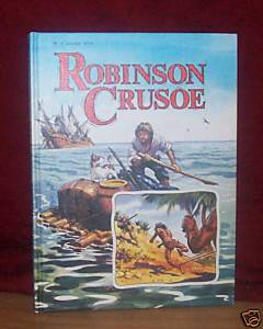 robinson crusoe golden book